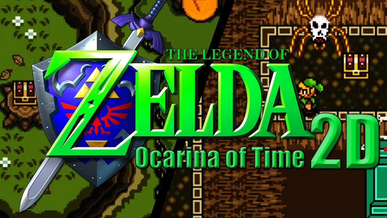 Ocarina of Time 3D, more like 2D: - Miketendo64! By Gamers, For