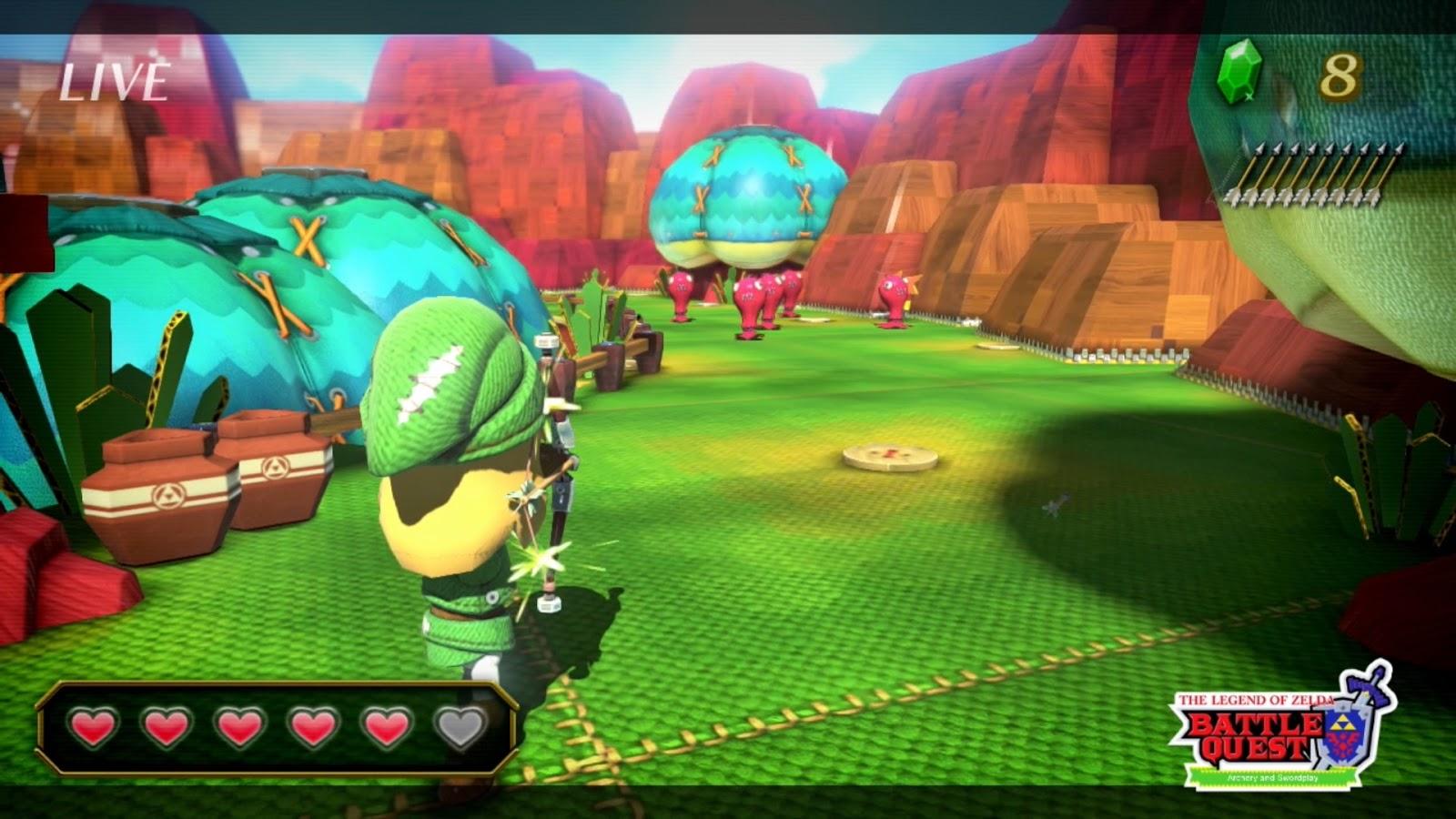 Zelda U – Nintendo Land's Battle Quest - Miketendo64! By ...