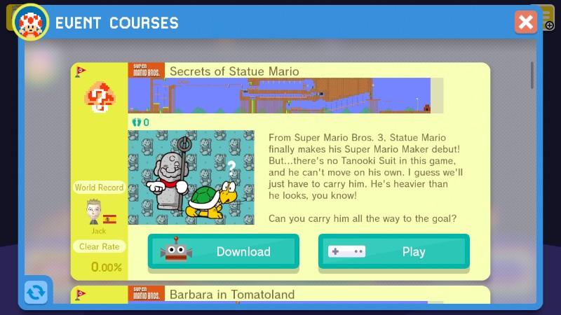 Version 1 40 is Coming to Super Mario Maker & Statue Mario