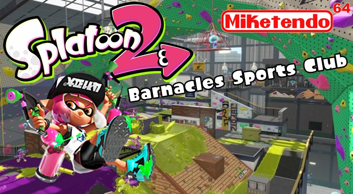 barnacles sports club a new map coming to splatoon 2. Black Bedroom Furniture Sets. Home Design Ideas