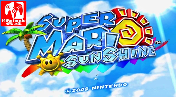 Review Super Mario Sunshine Nintendo Gamecube Miketendo64 By
