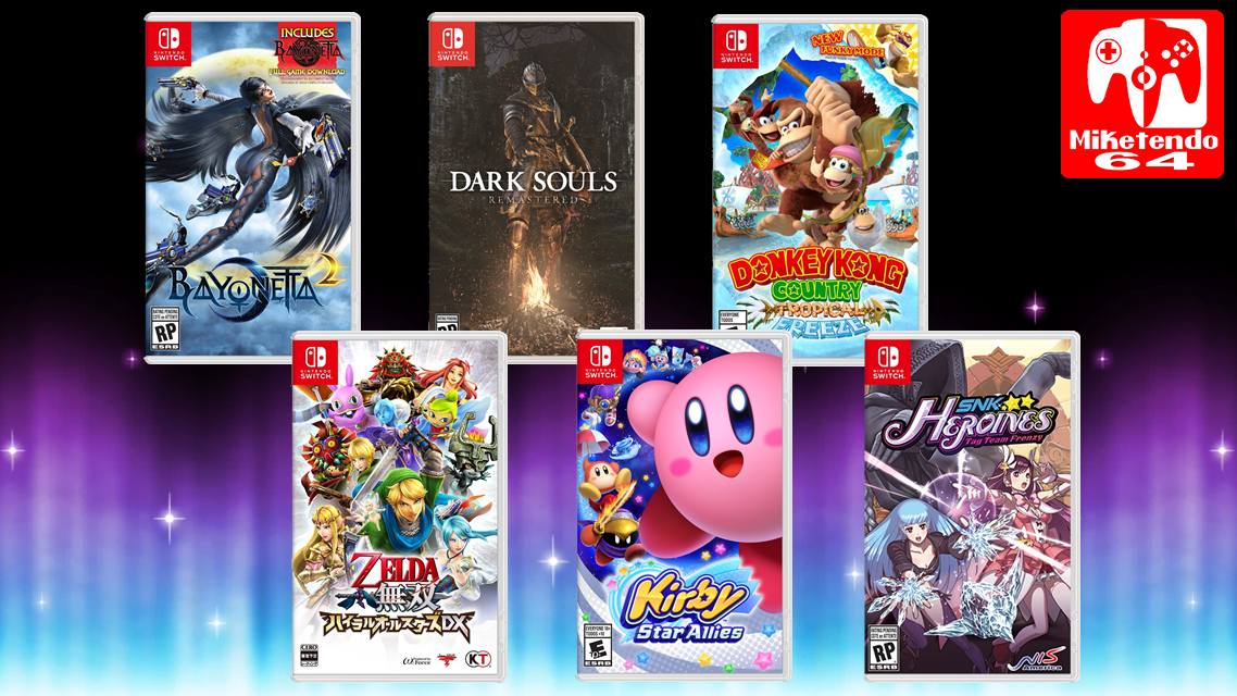 Gallery] Nintendo Switch Box Art For Games Of 2018 - Miketendo64! By ...