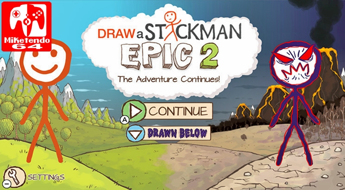 Review Draw A Stickman Epic 2 Nintendo Switch Miketendo64 By