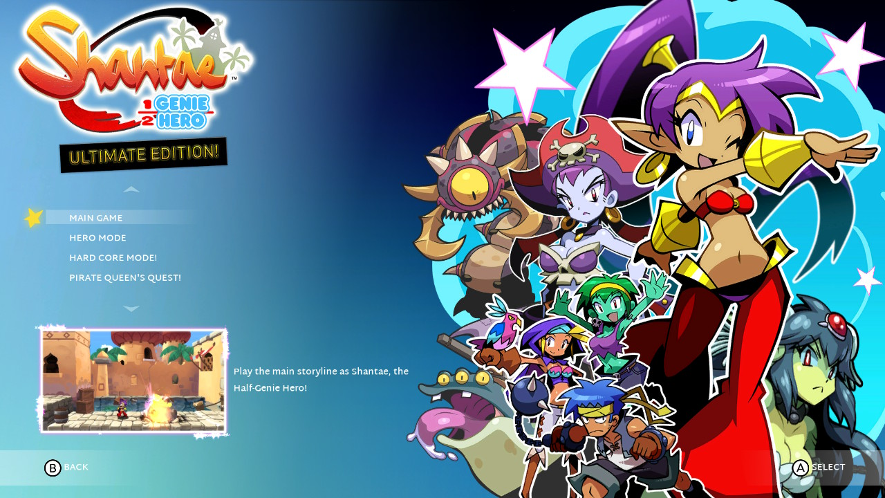 shantae half genie hero ultimate edition worth it