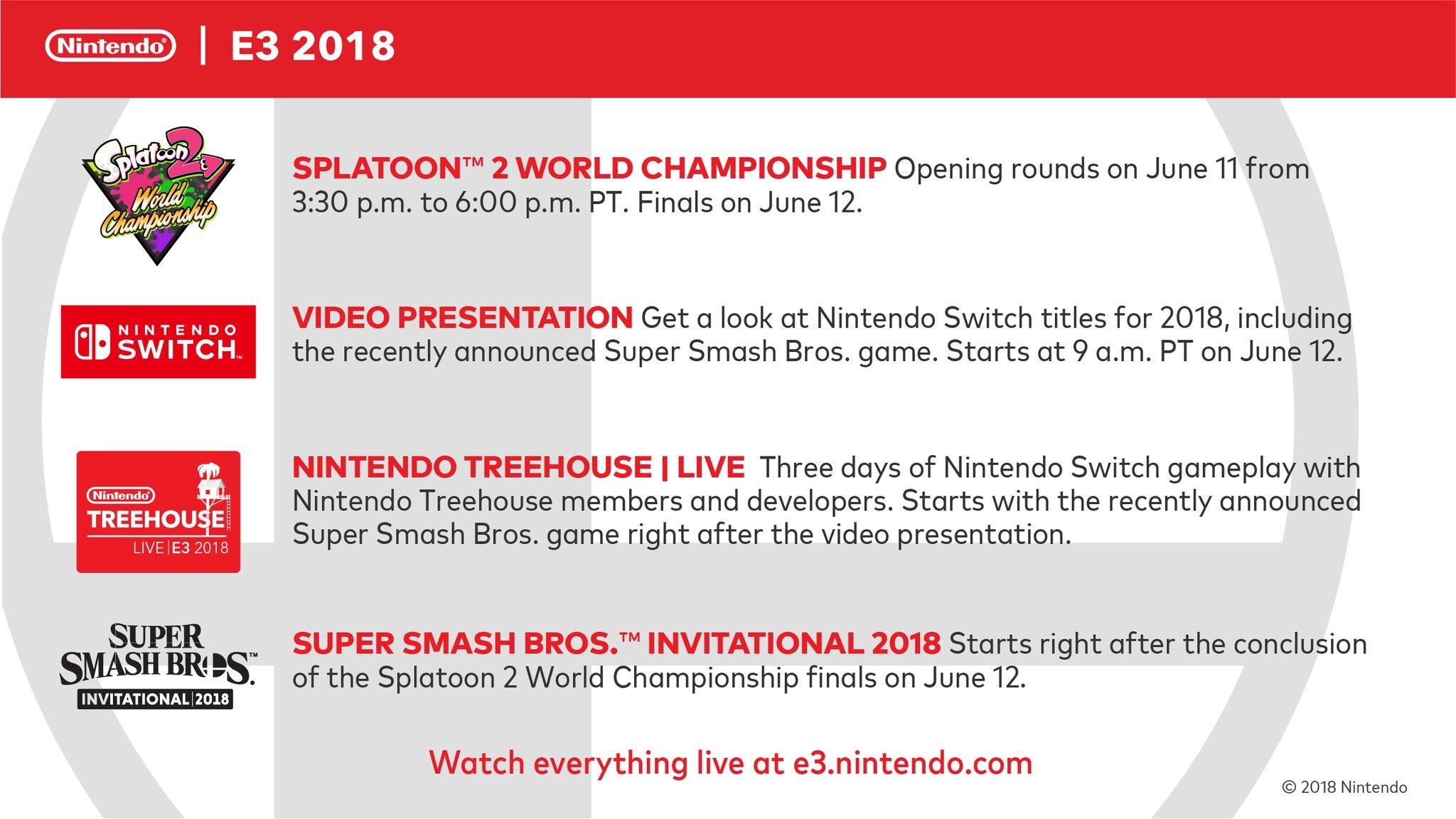 e3 2018 nintendos plans have been announced spotlight
