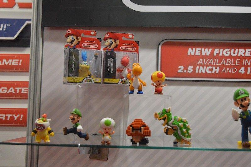 New World Of Nintendo Figures At Toy Fair Nintendofigures Com