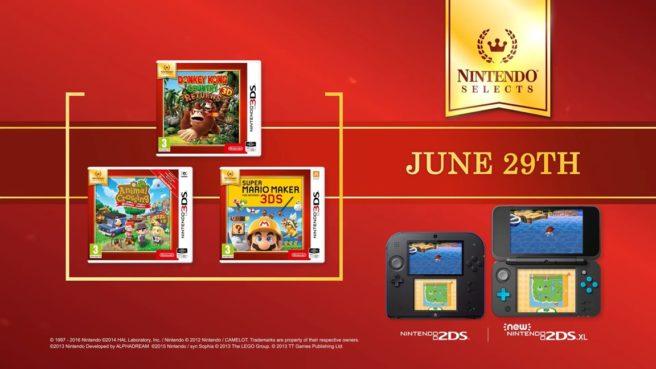 Nintendo Selects Range