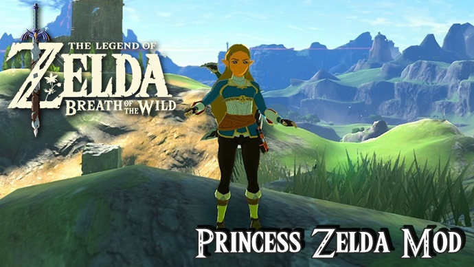 Princess Zelda as a playable character in Zelda: Breath Of The Wild