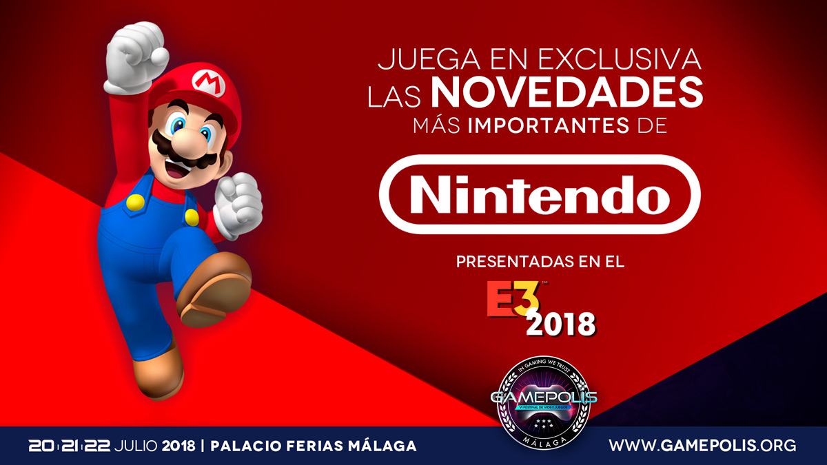 Nintendo E3 2018 Games To Be Present At Gamepolis