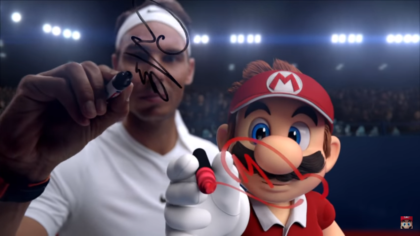 The Demo Exclusive Classic Mario Outfit Will Be Added To Tennis Aces At A Later Date