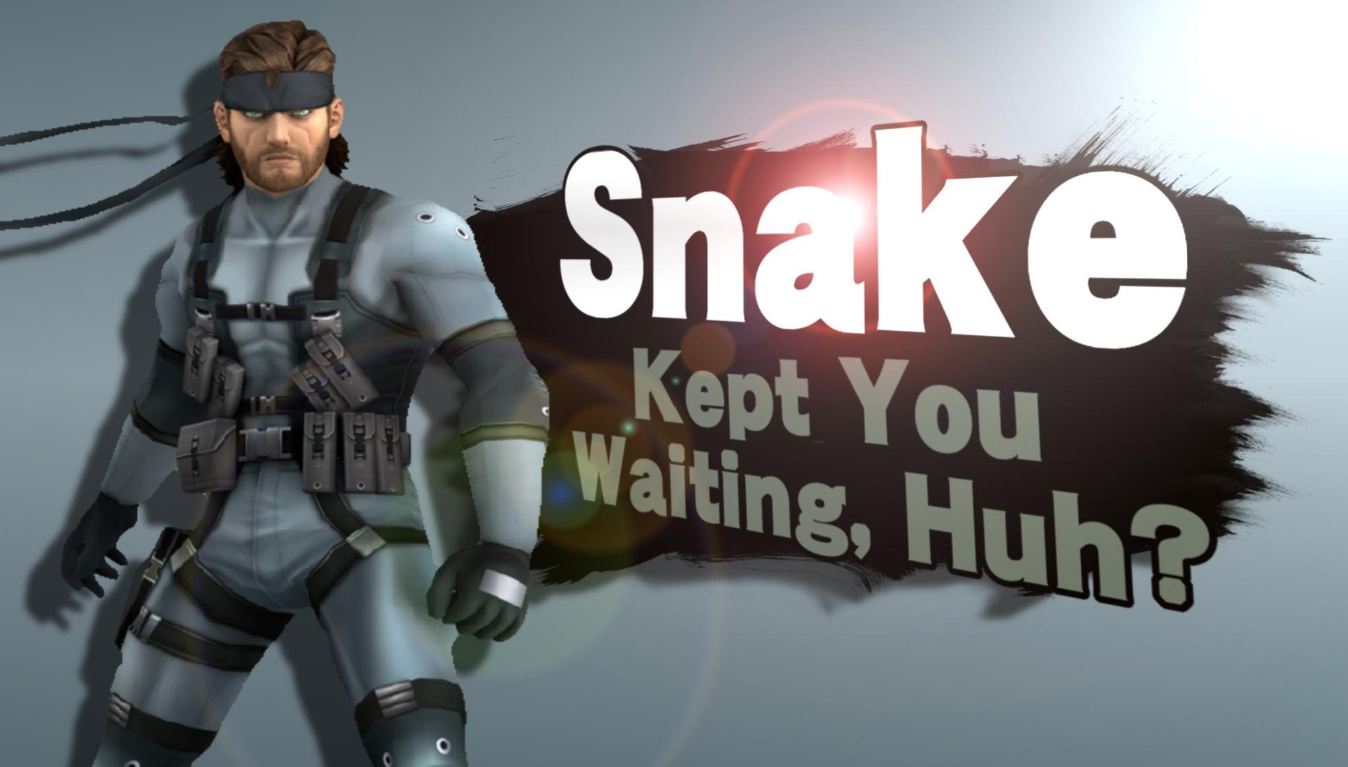 Solid Snake Returning To Super Smash Bros