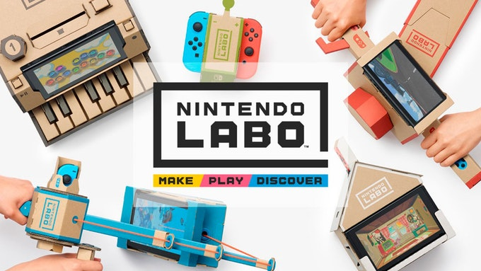 Nintendo Labo UK Channel