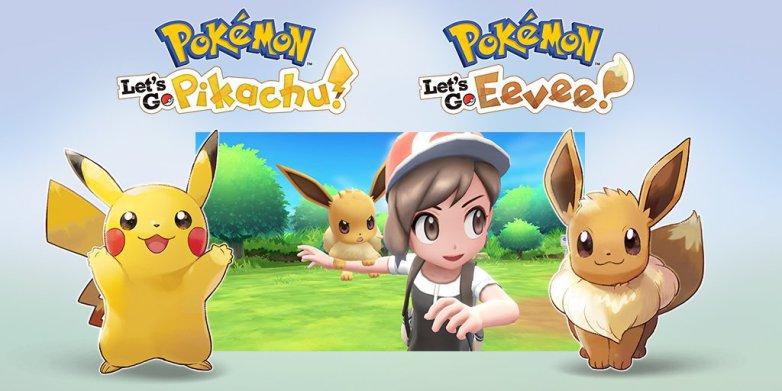 Pokémon Let's Go: Pikachu / Eevee