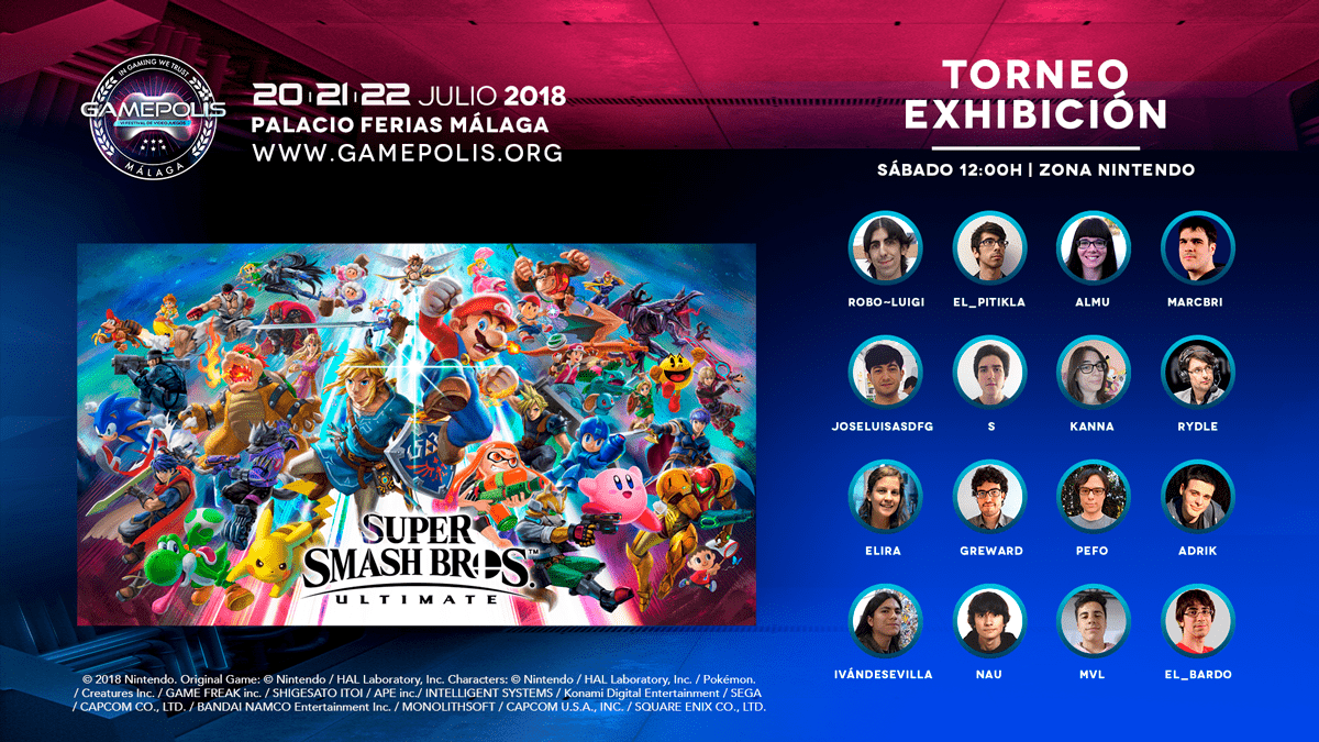 Gamepolis Smash Bros Ultimate Tournament
