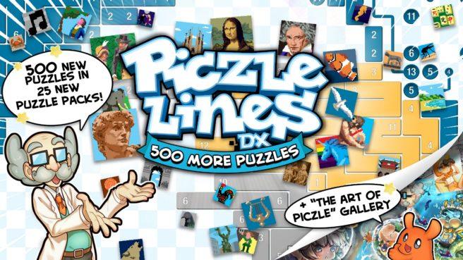 Piczle Lines DX 500 More Puzzles