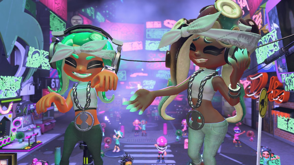 Splatoon 2 Pearl And Marina Amiibo Unlocks Octo Expansion Inspired Gear For Your Inklings Octolings Miketendo64