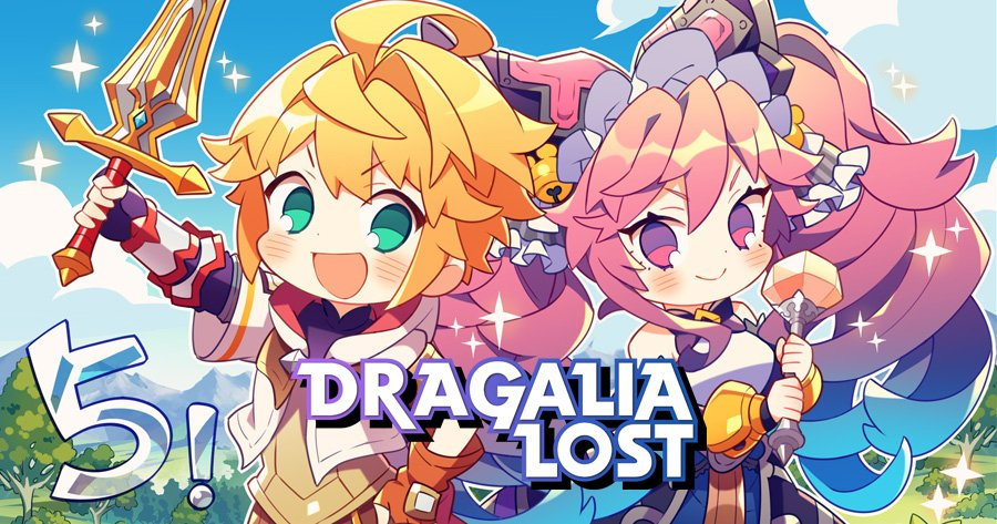 Dragalia Lost characters dragons characters
