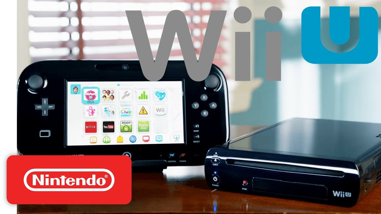 Wii U Firmware version 5.5.4