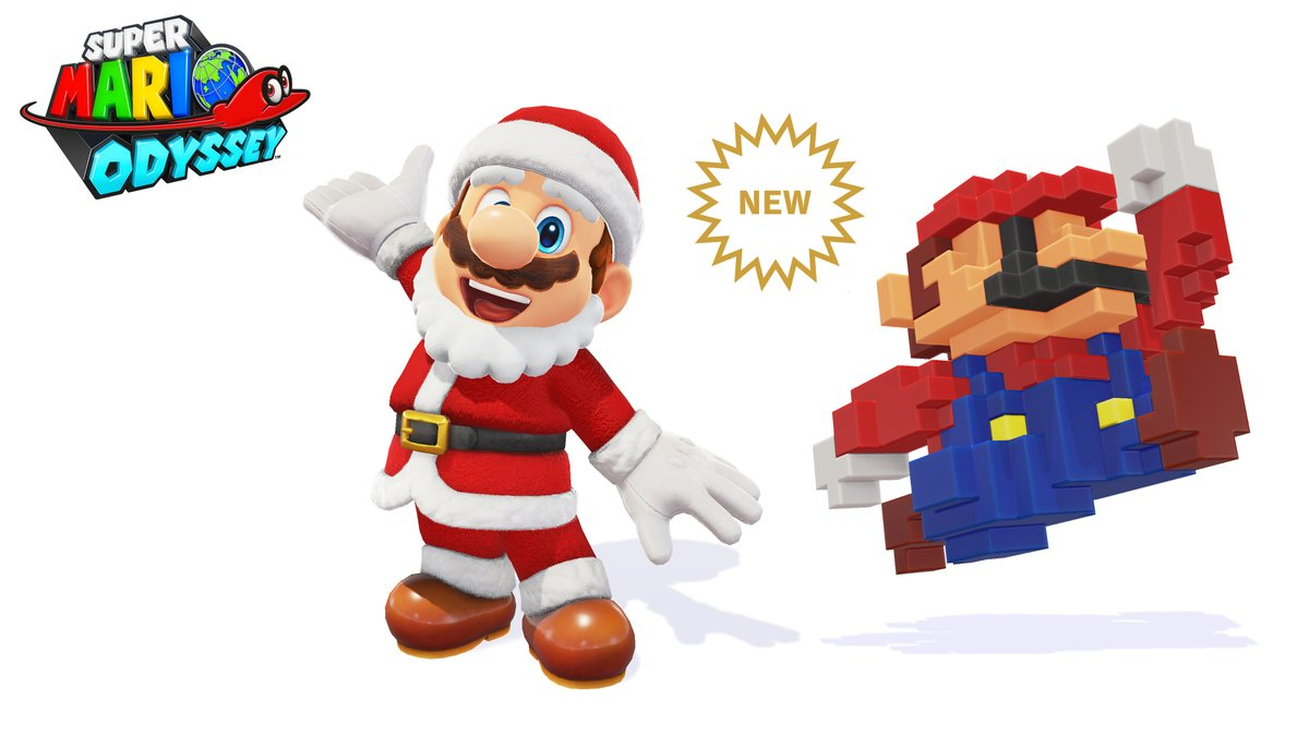Santa Mario Outfit