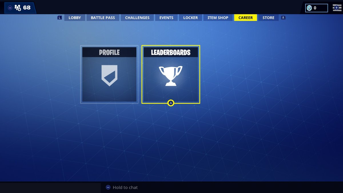 career tab might be added to fortnite on the nintendo switch - whats in the fortnite shop rn