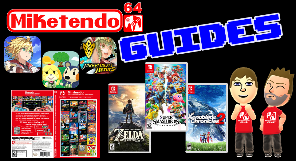 Miketendo64 Guides