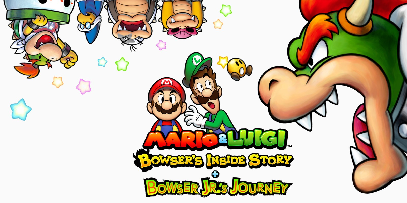 Mario & Luigi: Bowser's Inside Story + Bowser Jr's Journey