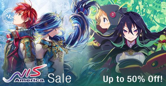 NIS America Sale