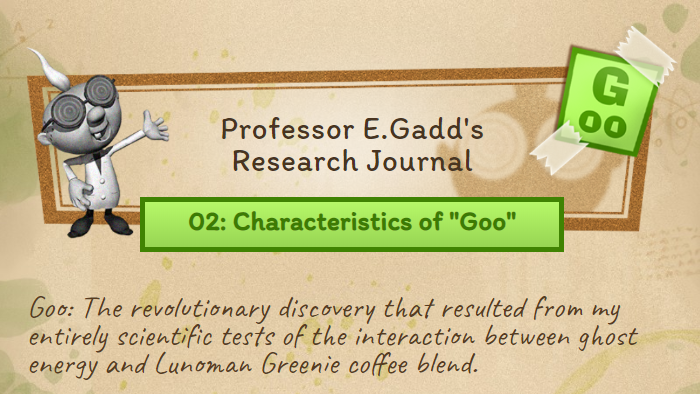 Professor E. Gadd's Research Journal