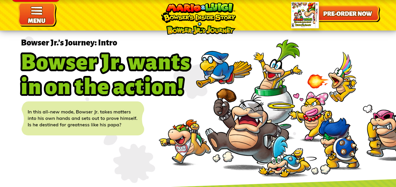 Guide An Introduction To Bowser Jr S Allies In Mario Luigi