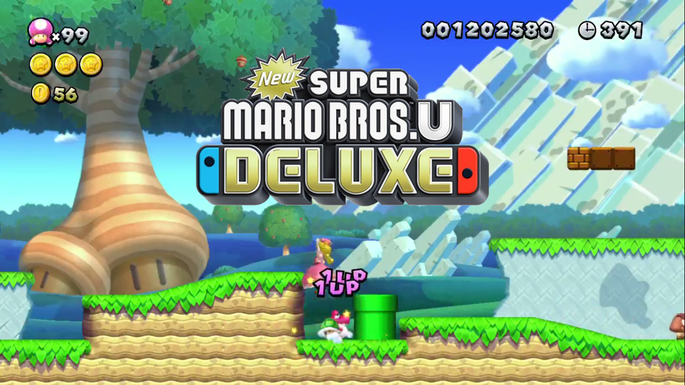 Guide Infinite Lives Glitch With New Super Mario Bros U Deluxe