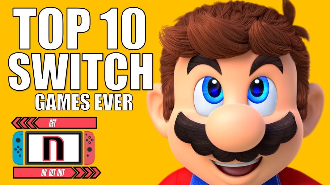 Top 10 nintendo switch games 2019