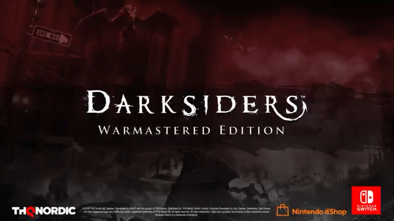 Darksiders Warmastered Edition For Switch