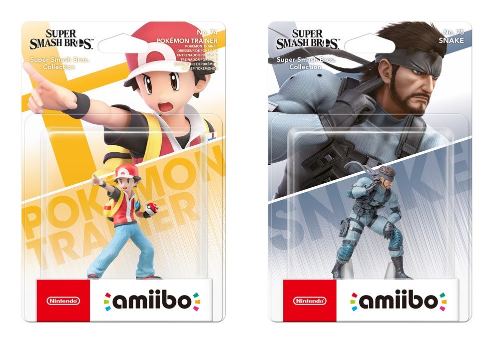 Smash Bros amiibo