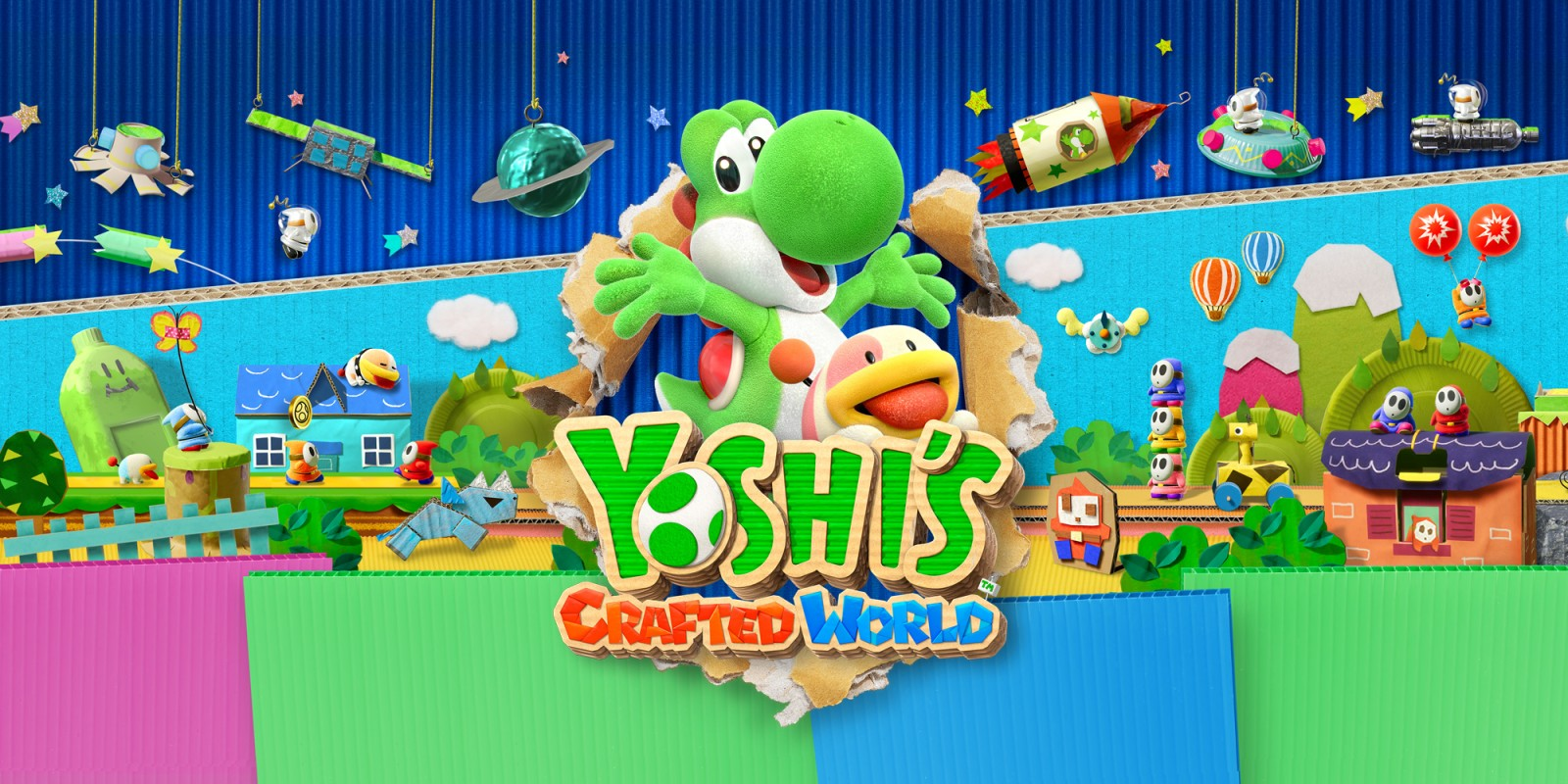 Yoshi's Crafted World Teaser Site