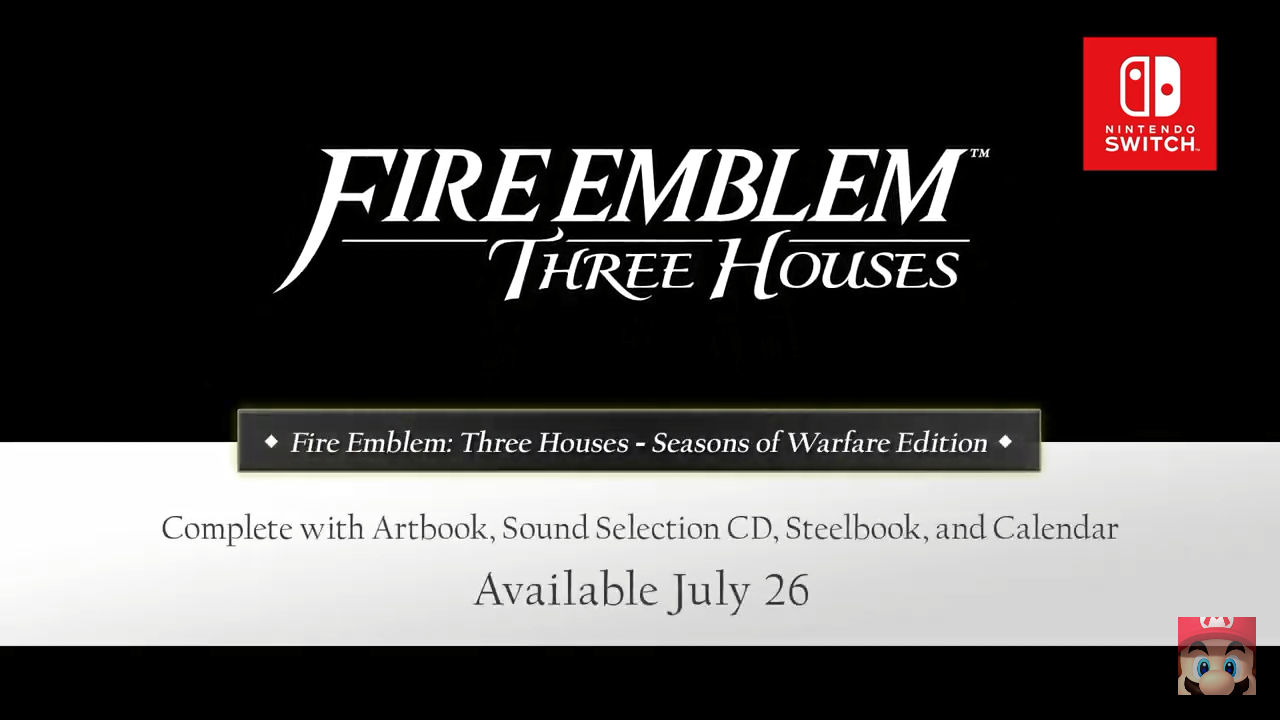 Fire Emblem: Three Houses Details