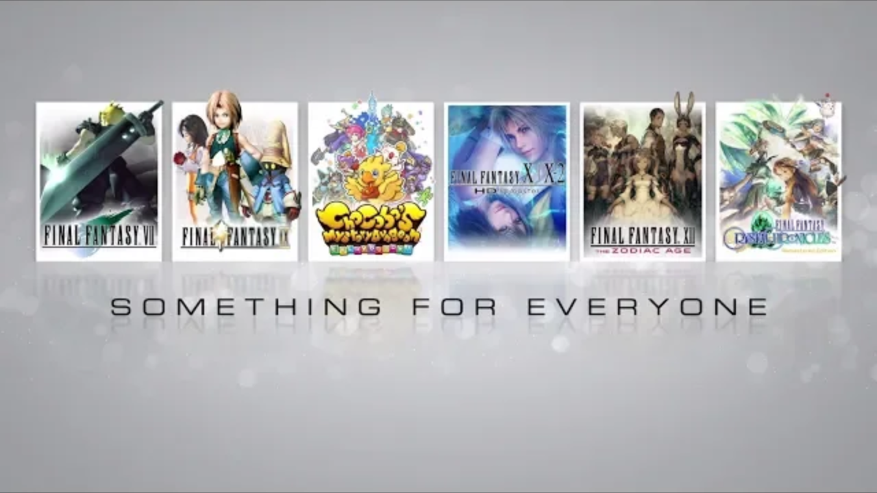 FINAL Fantasy Something For Everyone