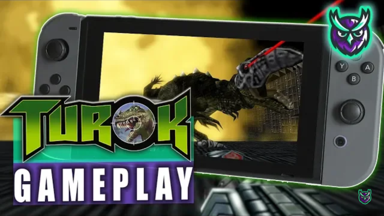 Turok Switch Gaemplay