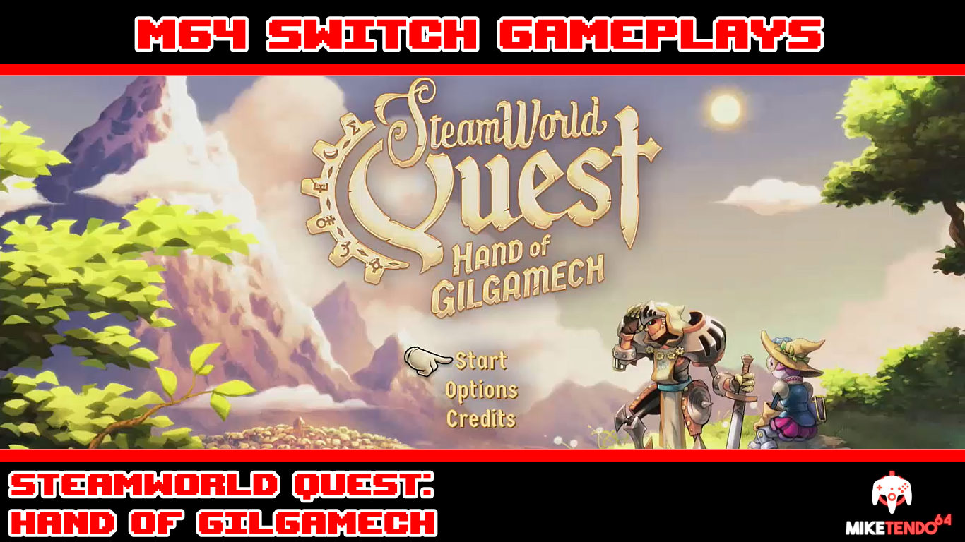 M64 Switch Gameplay - SteamWorld Quest