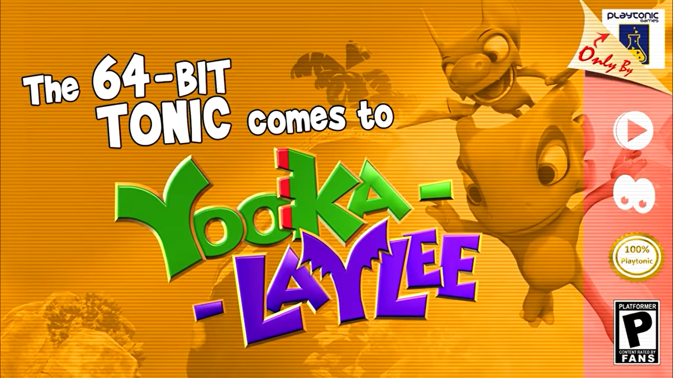 Yooka-Laylee 64-bit Tonic