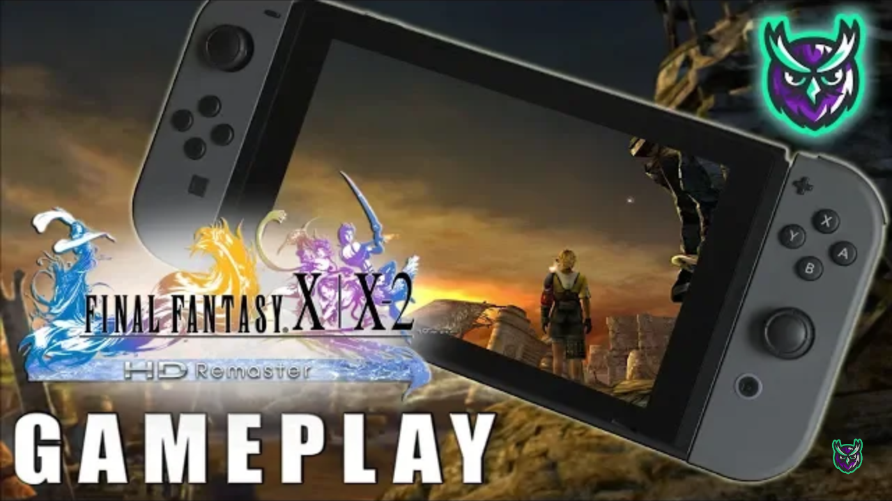 Final Fantasy X Switch Gameplay