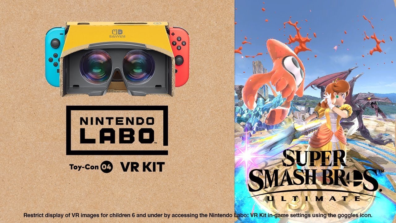 Nintendo Labo: VR Kit + Super Smash Bros. Ultimate