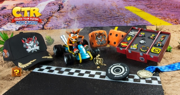 Crash Team Racing Merchandise