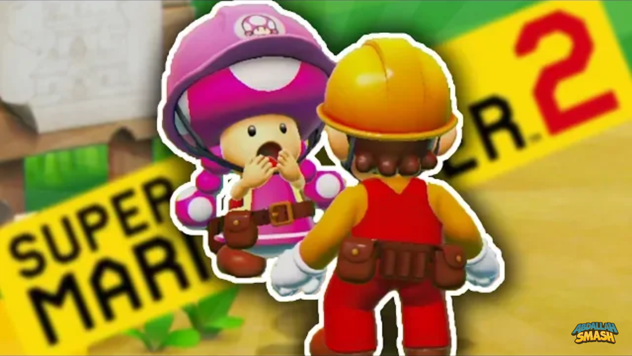 Super Mario Maker 2 Story Mode Gameplay