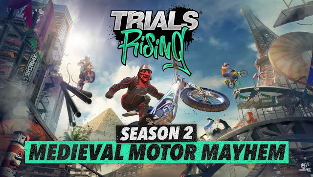 Trials Rising Season 2: Medieval Motor Mayhem