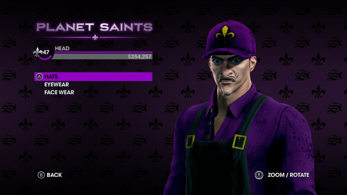 Waluigi In Saint's Row: The Third - The Full Package