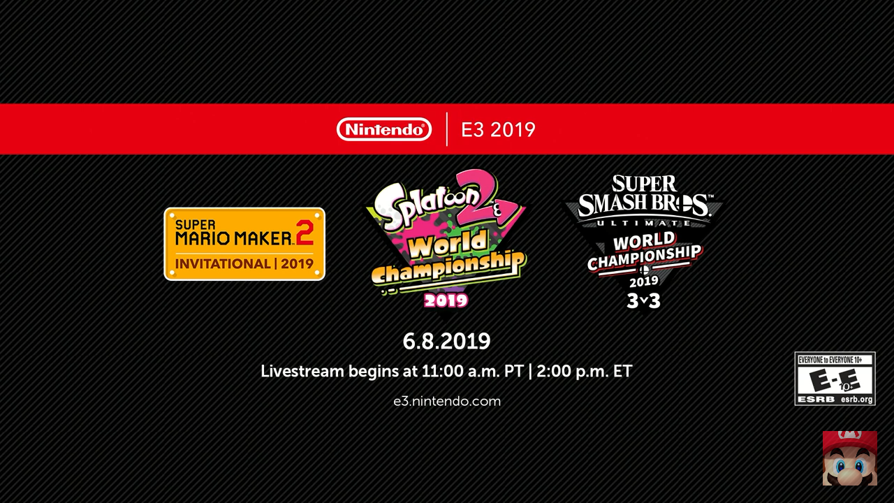Nintendo E3 2019 Tournaments