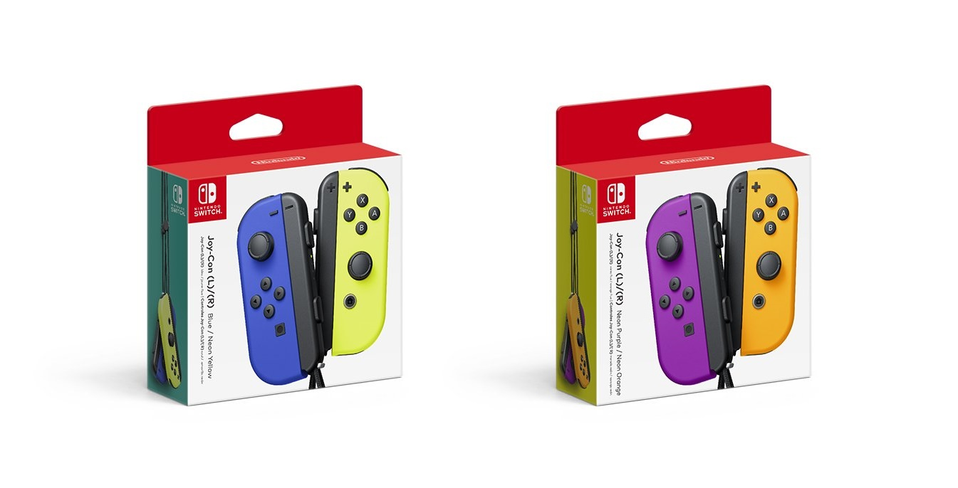 New Joy-Con Color pairs