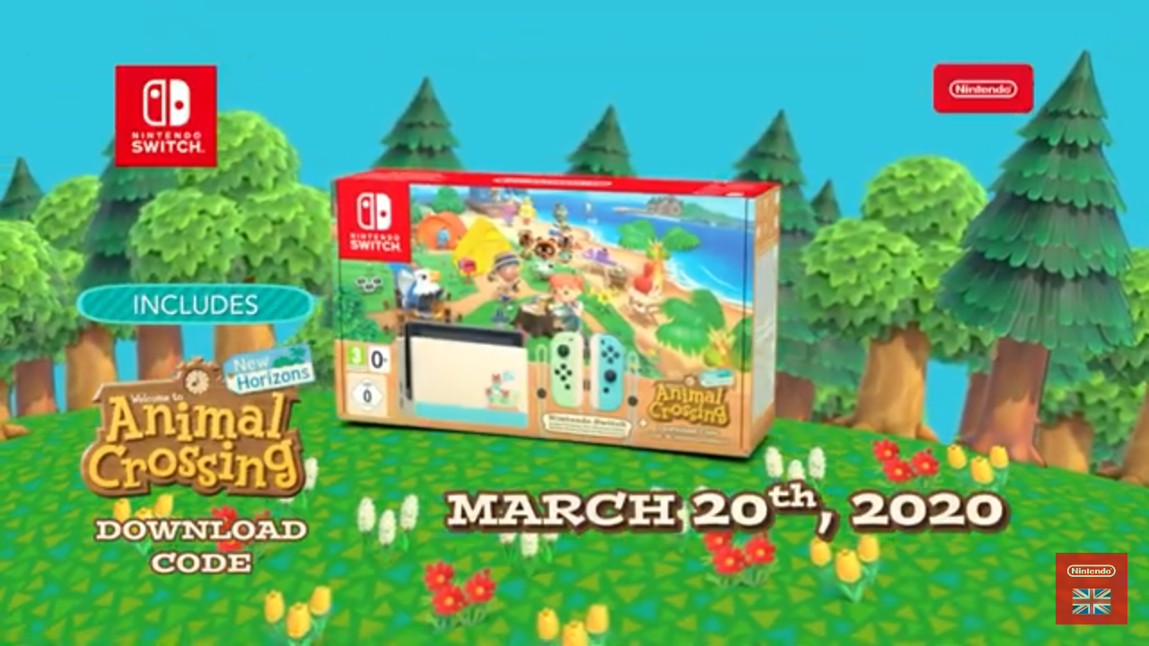 Nintendo Announce New Nintendo Switch Animal Crossing New