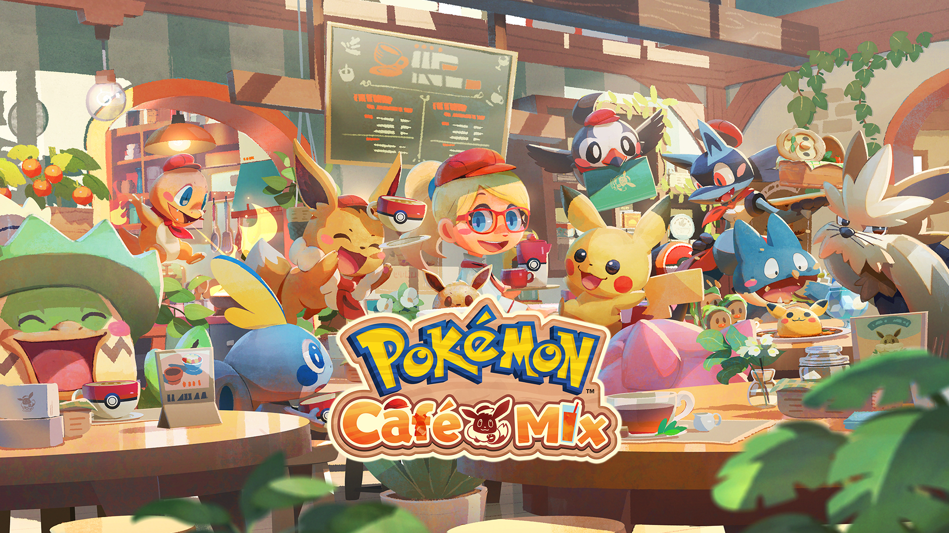 Pokémon Café Mix Gameplay