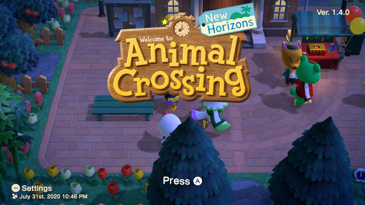 Animal Crossing: New Horizons Fireworks